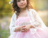 The Pink Duchess Flower Girl Tutu Dress