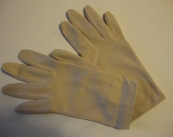 vintage tan gloves