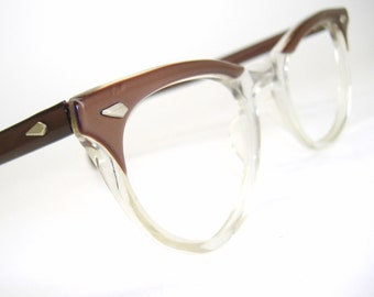 Vintage Cat eye Glasses Eyeglasses or Sunglasses  American Optical Frame