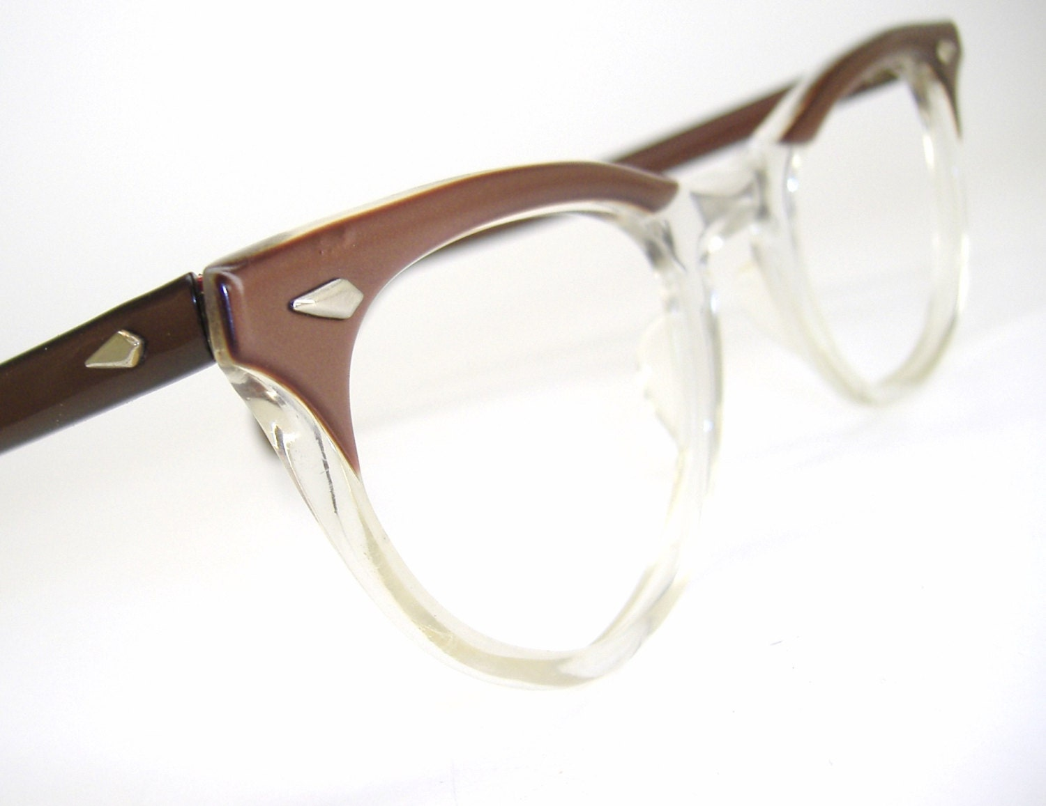 Vintage Cat eye Glasses Eyeglasses or by Vintage50sEyewear ...