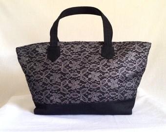 Satchel Handbags  - Gifts for Women - Fabric Handbag - Girlfriend Gift