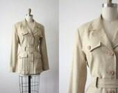vintage safari jacket