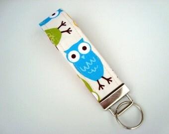 Key Chain, Wristlet, Key Fob - Zoologie Owls