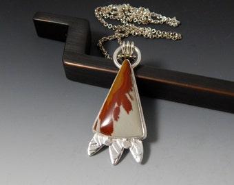Owyhee Picture Jasper Long Statement Necklace