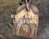 Reserved Listing Dog Tags