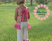 Summer Fun Top and Capris Size 6