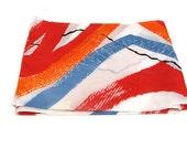 Vintage Multi Color Scarf Spring Scarves Women's Scarf Vintage Scarf Ladies Scarves Polyester Scarves Colorful Scarf Avon Scarf Spring Scarf