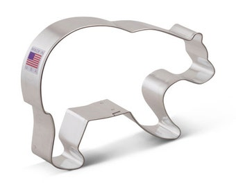 Grizzly BEAR Cookie Cutter New  5.5""
