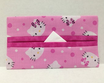 Hello Kitty Tissue Cozy/Gift Card Holder/Party Favor/Wedding Favor