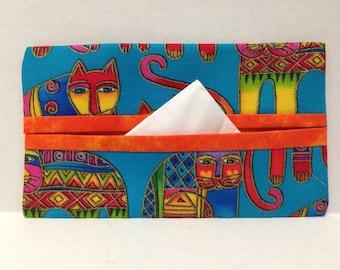 Laurel Burch Cats Tissue Cozy/Gift Card Holder/Party Favor/Wedding Favor