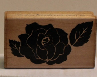 Perfect Solid ROSE Rubber Stamp planners Bible journaling