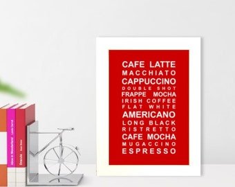 A5 unframed Essential Coffee wall art print