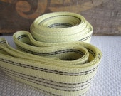 Pale Yellow Lawn Furniture Webbing Weatherproof Plastic
