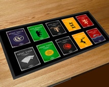 Game Of Thrones house crests bar runner pubs clubs & cocktail bars