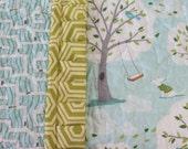 Baby Gender Neutral Quilt Baby Shower Gift Backyard Baby Bedding Michael Miller