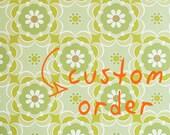 Personalised Chickens Embroidery Hoop