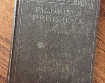 Pilgrims Progress Book 1890