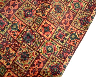 Vintage Fabric - Bohemian Corduroy - By the Yard