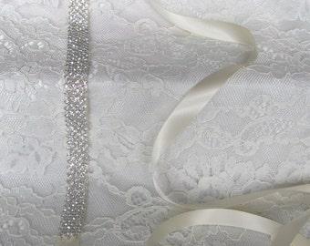 Crystal Rhinestone Bridal Sash,Wedding sash,Bridal Accessories,Bridal Belt,Style #2