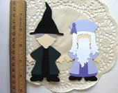 Handmade Wizarding World of Harry Potter Paper Doll Embellishments Perfect for Scrapbooking, Invitations or Party Decor