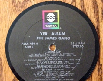 James Gang Coaster
