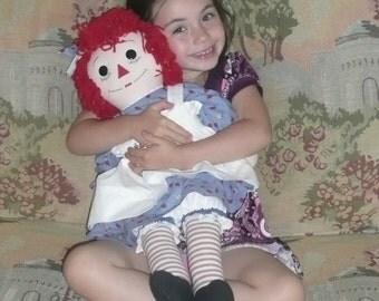 Raggedy Ann Doll 25inch