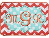 656 Frame Patch 4 Machine Embroidery Applique Design