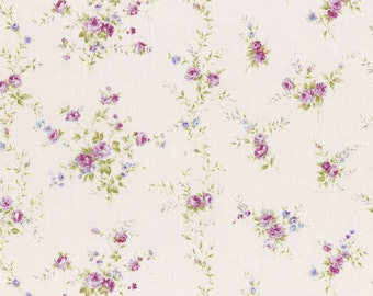 Rococo Sweet 2015  Small Roses Cotton Fabric Lecien 31140-10