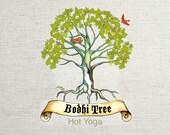 Custom Logo Graphic Design.  Yoga Fitness No More Procrastinating. Get it Done This Week. Original Unique