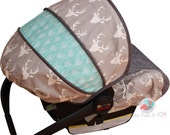 Buck Forest Infant Car Seat Cover