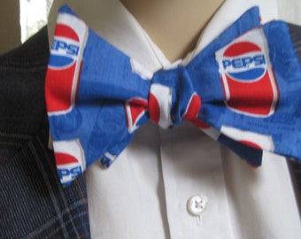Pepsi Cola Can Bow Tie