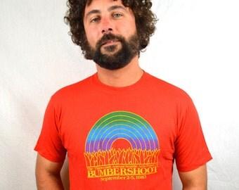 RARE Vintage 1983 Bumbershoot SEATTLE Tshirt  Tee Shirt