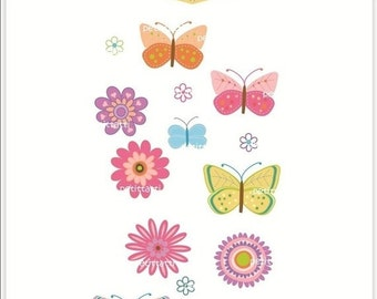 ON SALE butterflies Digital clip art - instant download clip art butterfly