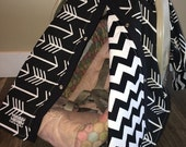 Baby carseat canopy