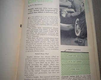 1953 Everybody's Car Manual Book