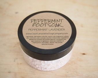 Foot soak (Peppermint) 25g