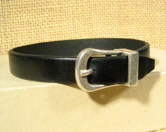 Buckles for 10mm Flat Leather - Antique Silver