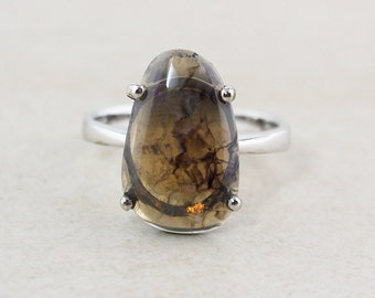 Natural Brown Opal Rings - Australian Opals - Free Form, One of a Kind