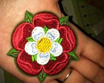 3 x 3 inches Tudor Rose (Renaissance) - Badges (Patch)