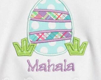 Girl's Easter Shirt, Custom Easter Shirt, Personalized Easter Shirt, Easter Egg Shirt, Boy's Easter Shirt, Custom Colors
