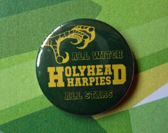 Harry Potter Holyhead Harpies Quidditch Badge