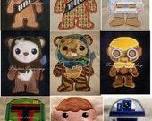 Star Trooper set of 11 designs. 5x7