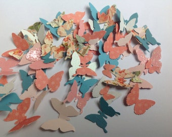 125 pc Paper Butterflies    Shower     Reception Decorations    Wedding