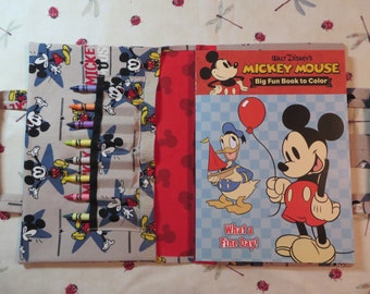MICKEY MOUSE Take Everywhere Coloring Book