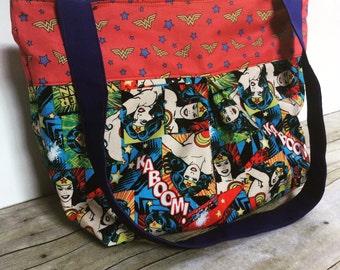 The Gretta Handbag-  CUSTOM Pleated Hobo Bag with Zipper Closure- Premum Fabric