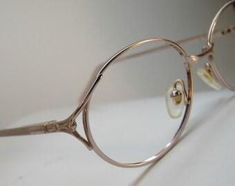 Vintage 70s Pink Eyeglasses Eyewear Frames NOS