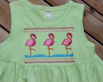Flamingo Dress or Swim suit cover up