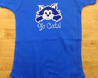 Baby Wildcat onesie