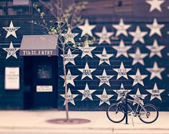 Stars of First Ave / 7th Street Entry Downtown Minneapolis Fine Art Photography