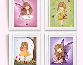 Nursery room ideas,baby girl room decor,nursery wall art,baby girl room,kids art,baby girl nursery,kids room decor,art for kids,fairy poster